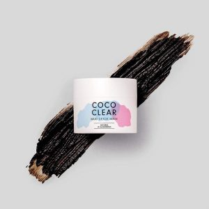 masque points noirs coco clear